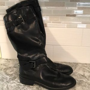 Enzo Angiolini tall leather boots